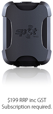 SPOT Trace. RRP $199 inc GST. Subscription required.