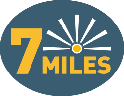 Range up to 7 miles