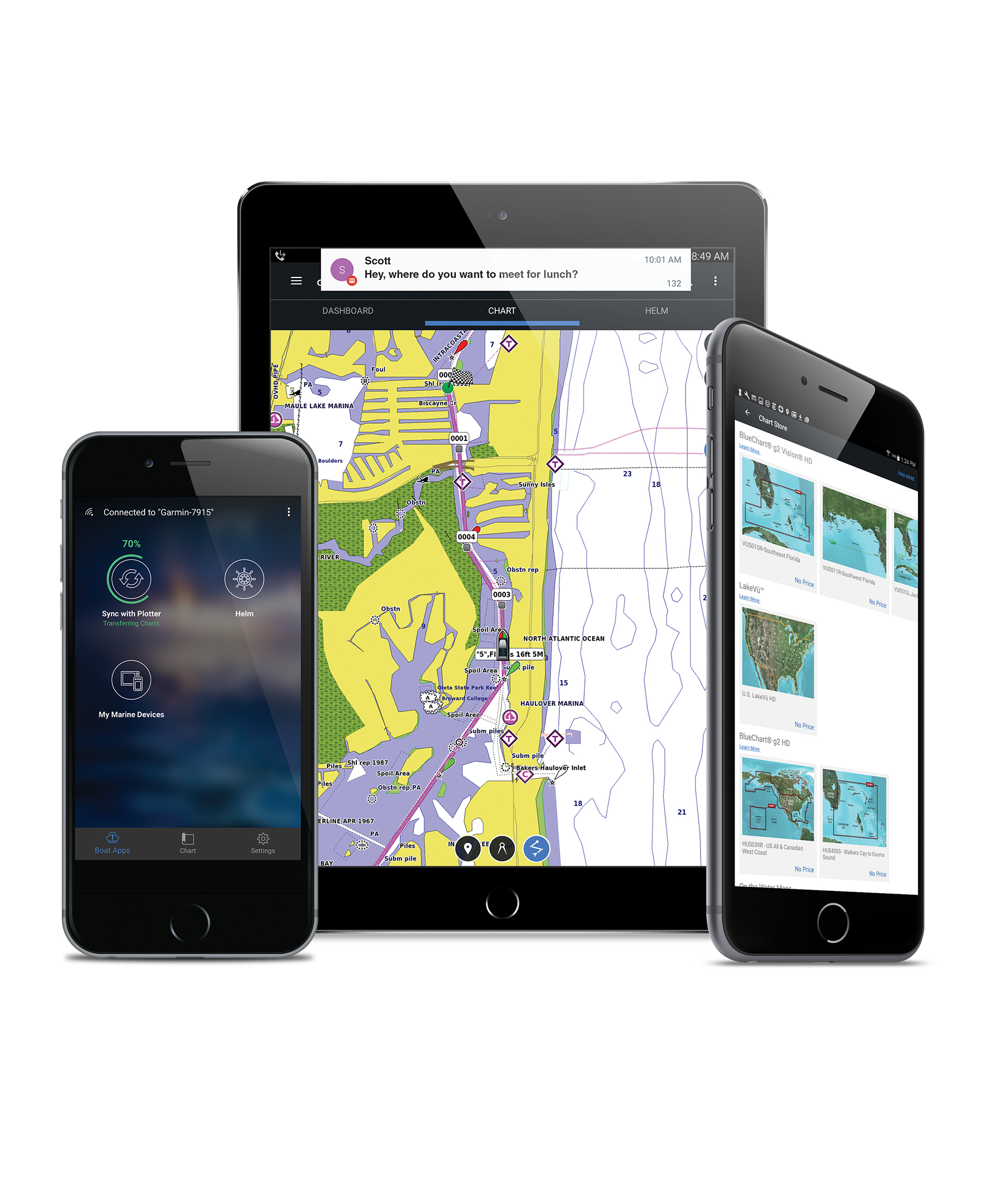 The Ultimate Connected Boating App